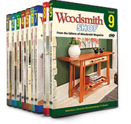 Woodsmith Shop DVDs