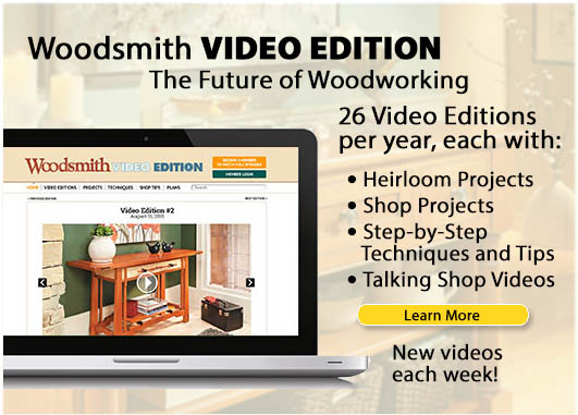 Woodsmith Video Edition