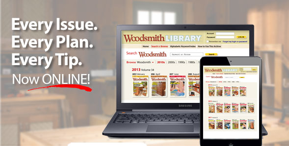 Woodsmith Magazine Back Issue Library