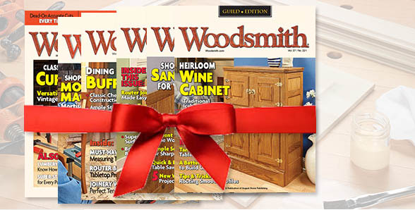 Woodsmith Gift Subscriptions