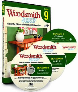 Woodsmith Shop DVD season 9 image