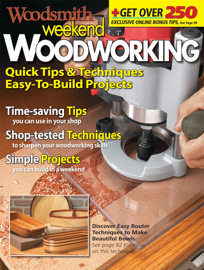 Weekend Woodworking, Vol. 1 Cover
