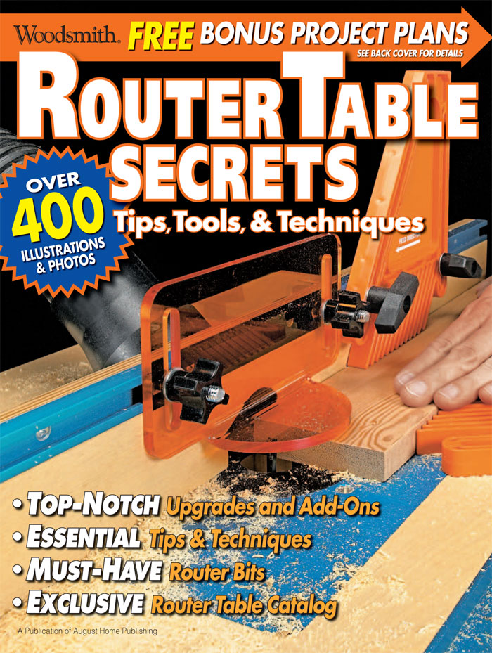 Router Table Secrets Cover