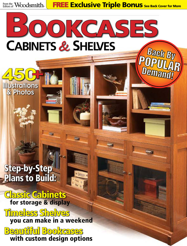 Bookcases, Cabinets & Shelves Cover
