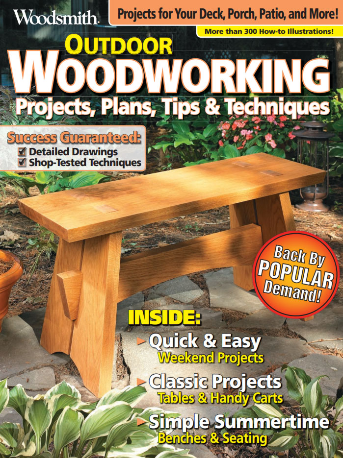 Outdoor Woodworking Cover