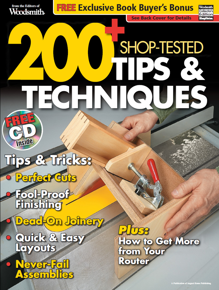 200+ Shop Tested Tips & Techniques Cover