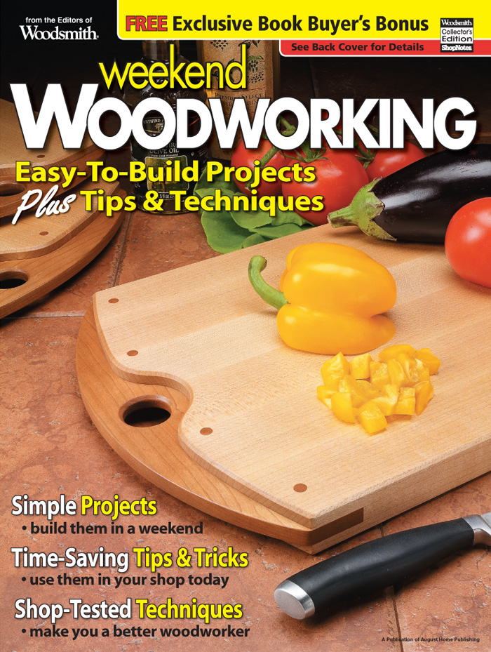 Weekend Woodworking, Vol. 2 Cover