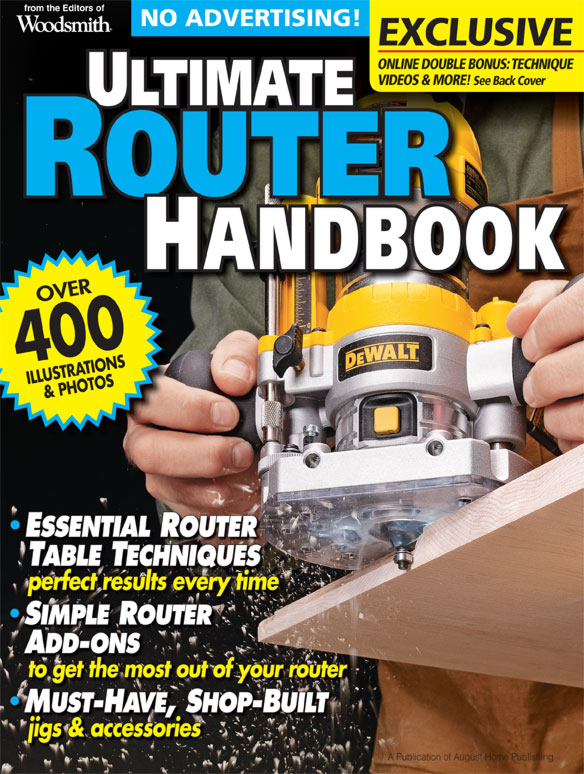 Ultimate Router Handbook Cover