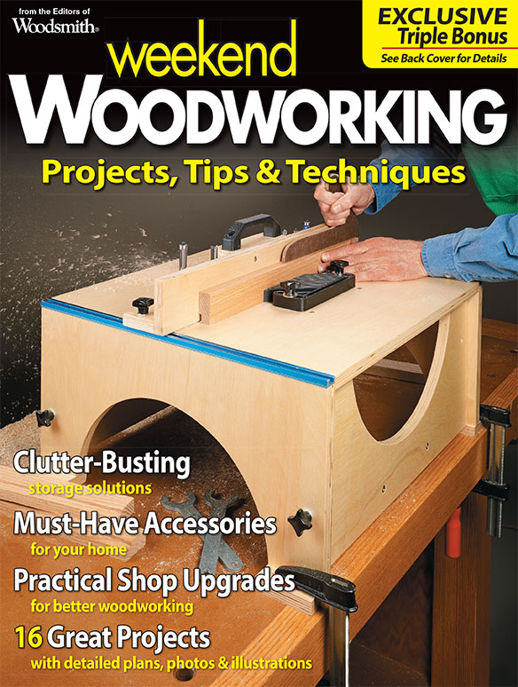 Weekend Woodworking, Vol. 4 Cover