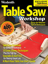 Table Saw Workshop Cover