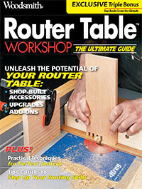 Router Table Workshop Cover