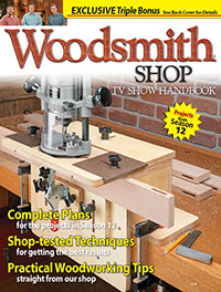 The Woodsmith Shop Handbook, Season 12 Cover
