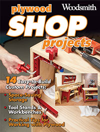 Plywood Shop Projects, 14 Easy-to-build Custom Projects Cover