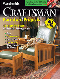 Furniture Projects, 12 step-by-step Craftsman Project Plans Cover