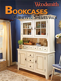 Bookcases, Cabinets & Shelves, Vol. 4 Cover
