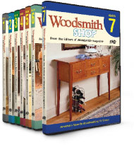 Woodsmith Shop DVD season 7 image