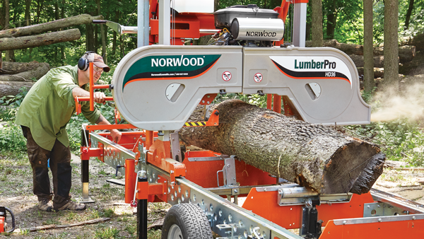 Logs to Lumber - Milling & Drying Lumber in a Home Shop