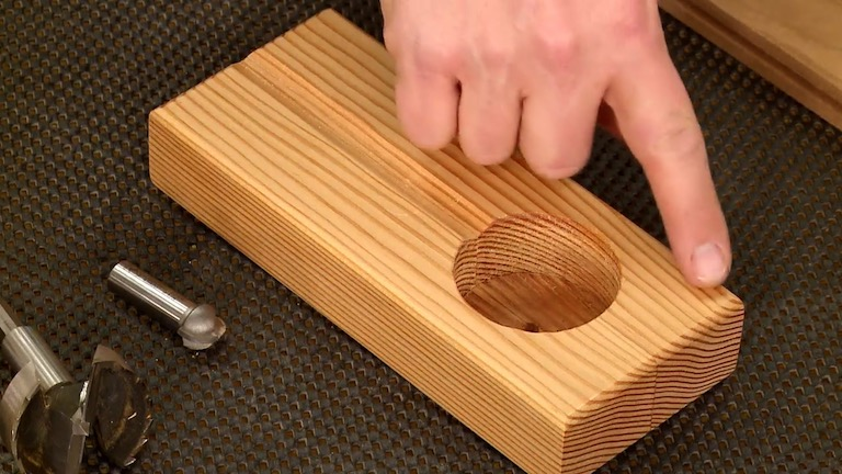 Table Saw Blade Caddy Shop Tip