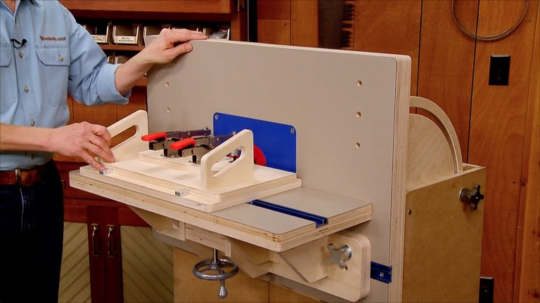 combination router table woodworking project