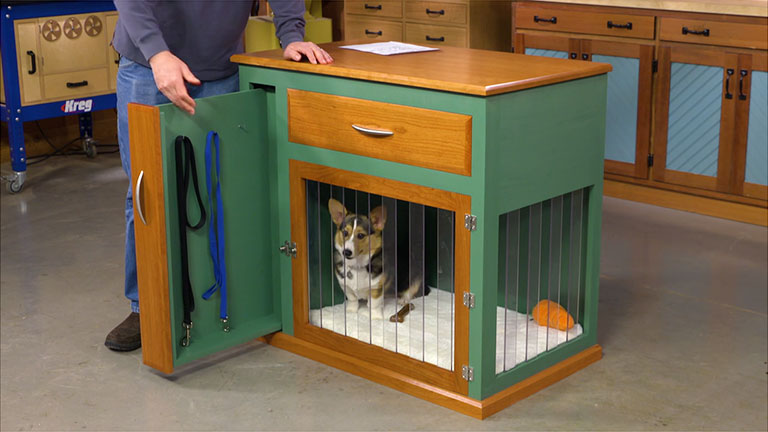Dog Crate Cabinet Edition 241 1