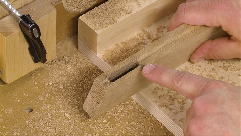 Alternate Way to Make a Mortise