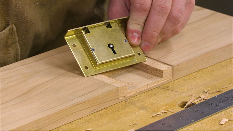 Installing a Chest Lock