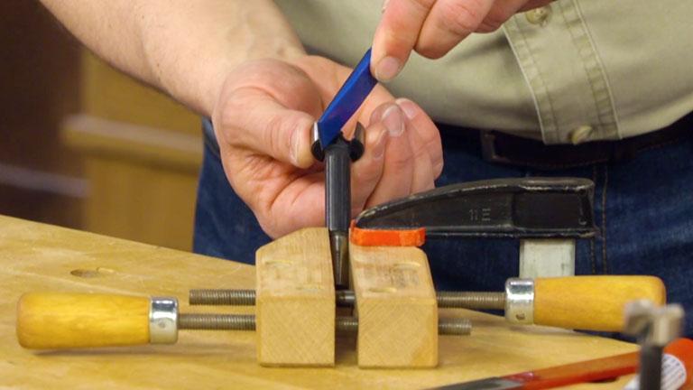 Sharpening Forstner Bits