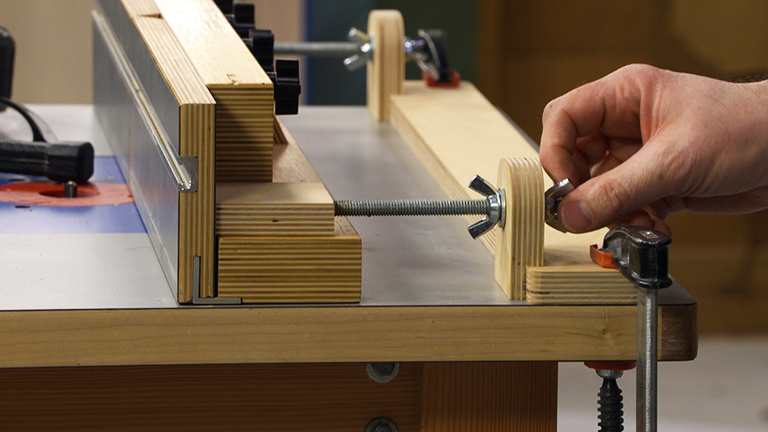 Micro Adjust Router Fence