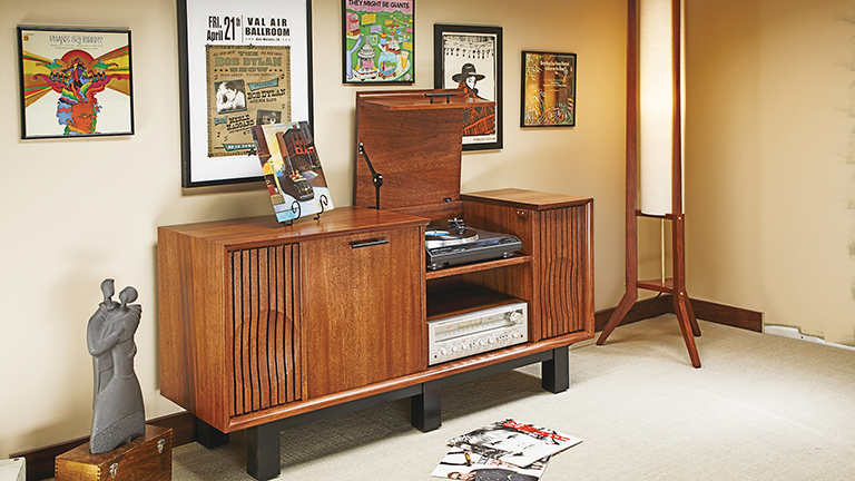 Turntable Console