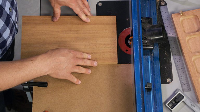 Routing Finger Notches
