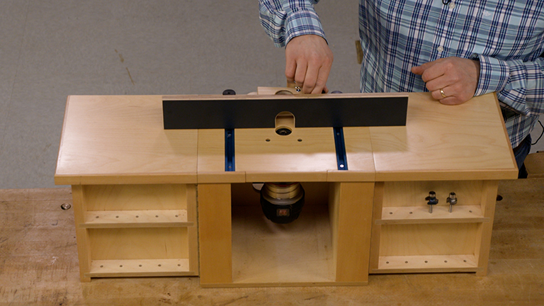 Micro-Adjustable Router Table Fence