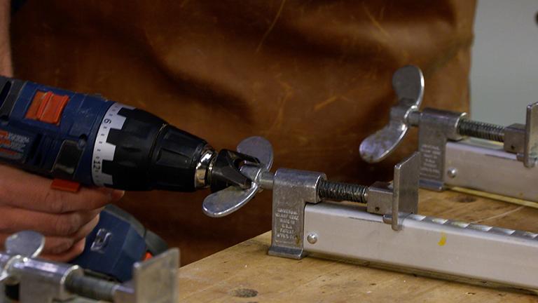Plug Cutter Clamp Assist