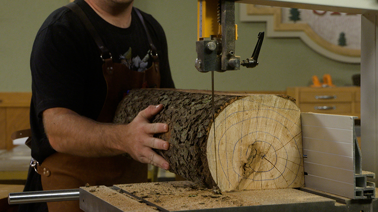 Logs To Lumber On A BandSaw