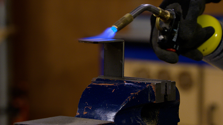 Bluing Hardware